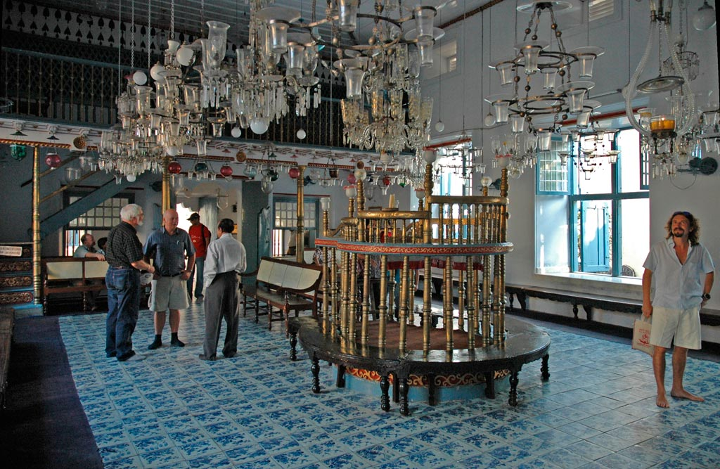 Jew Synagogue Interiors Forte Kochi