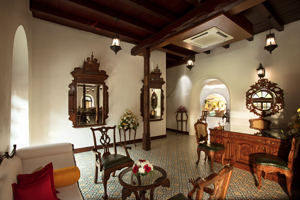 Cozy interiors of Fort Kochi