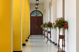 Portuguese influenced interiors at Hotel Forte Kochi