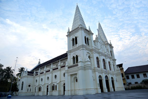 St cruise Basilica church kochi