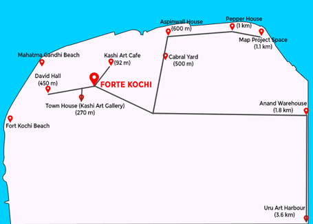 hotel-forte-kochi-map-stay-near-biennale-venues